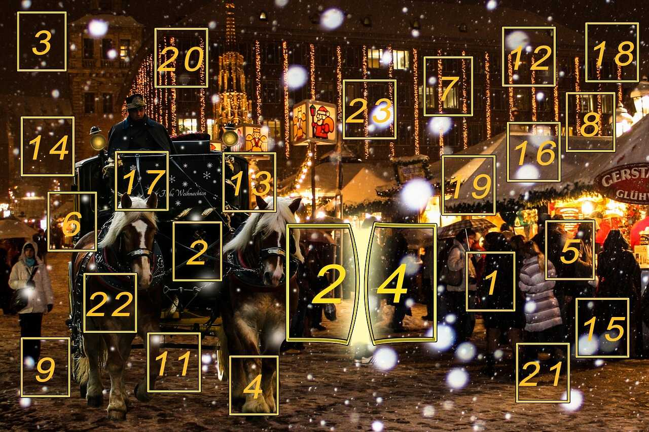 Adventskalender eine deutsche Tradition